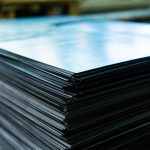 stacks of sheet metal
